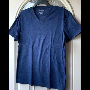 Banana Republic Factory Blue Short Sleeve Shirt